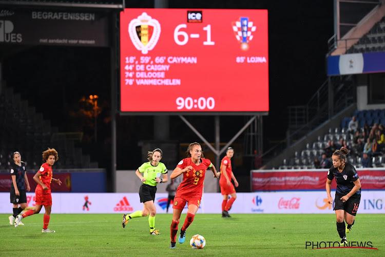 Red Flames kennen plaats waar ze tegen Kroatië zullen spelen