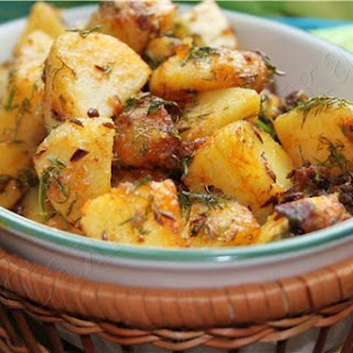 Indian Potatoes With Herbs