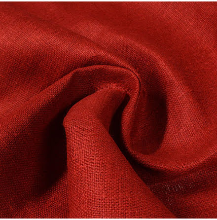 Juteväv Röd