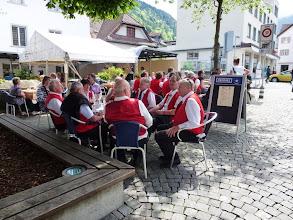 Photo: Kaffeepause im Gartenrestaurant