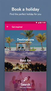 MyFirstChoice –The holiday app screenshot 1
