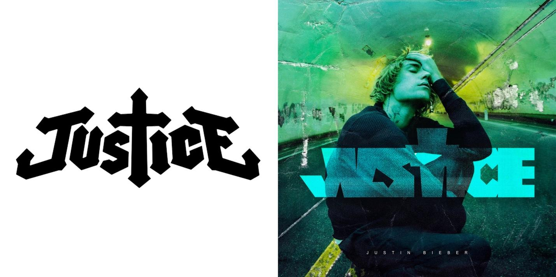 Justice and Justin Bieber album art