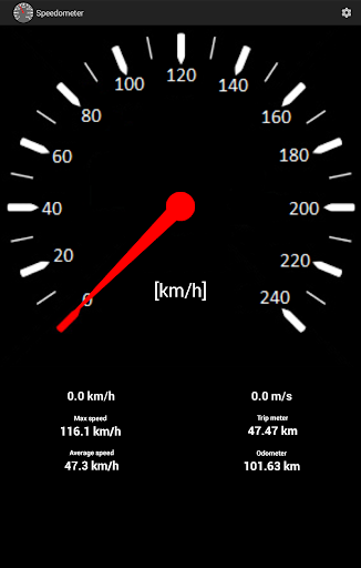 Speedometer screenshot 9