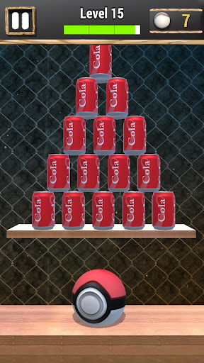 Knock Down Cans : hit cans apkpoly screenshots 5