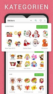 Stickers Cloud +500 Packs (WAStickerApps) Screenshot
