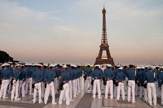 Fotó: Egyenruhában Párizsban
