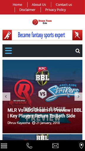 Dream 11 prediction pro 1.1.0 screenshots 1