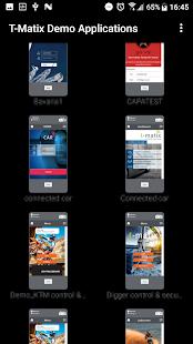 t-matix IoT App - náhled