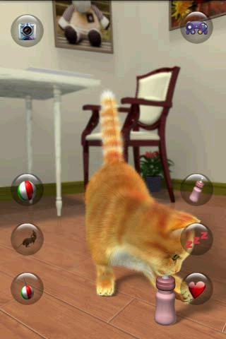 Talking Lovely Cat apkpoly screenshots 5