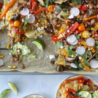 Veggie Fajita Sheet Pan Nachos.