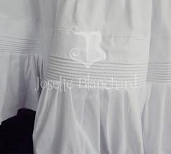 Photo: Petticoat vitoriano ( para bustle ou sem armação) em algodão. R$ 220,00.  ( detalhe do cording da barra)