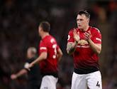 Phil Jones (Manchester United) de retour dans le groupe après 19 mois d'absence