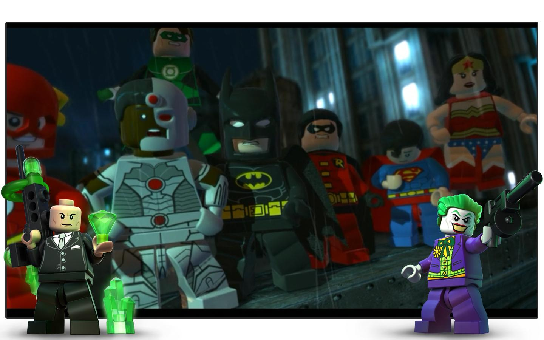 Lego batman dc super heroes aplikacje na androida w for Videos de lego batman