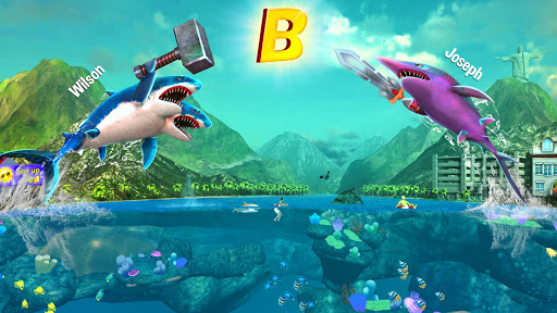 Cheat Double Head Shark Attack - Multiplayer Mod Apk, Download Double Head Shark Attack - Multiplayer Apk Mod 1