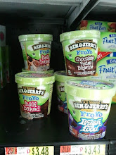 Photo: There were only two other frozen yogurts at Walmart. This one was Ben & Jerry's.