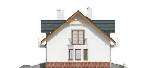 Dom Dla Ciebie 1 w4 z garażem 2-st. A1 - Elewacja lewa