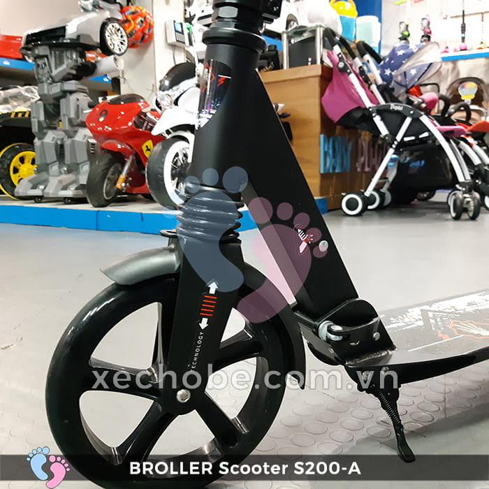Xe trượt Scooter 2 bánh Broller S200A 14