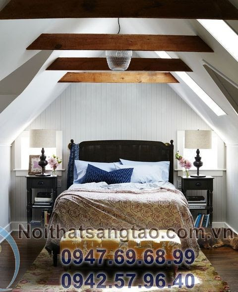 trang trí phòng ngủ ấn tượng
