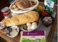 Swiss Cheese And Mushroom Strata Recipe