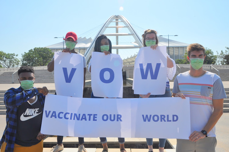 Aids Healthcare Foundation launches 'Vaccinate our World' campaign.