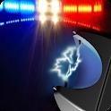 Police Lights & Sirens +Taser icon