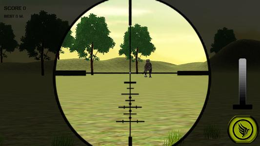Dino Hunting Jurassic Sniper3D screenshot 1