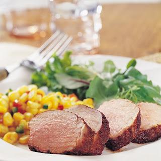 Southwest-Spiced Roast Pork Tenderloin.
