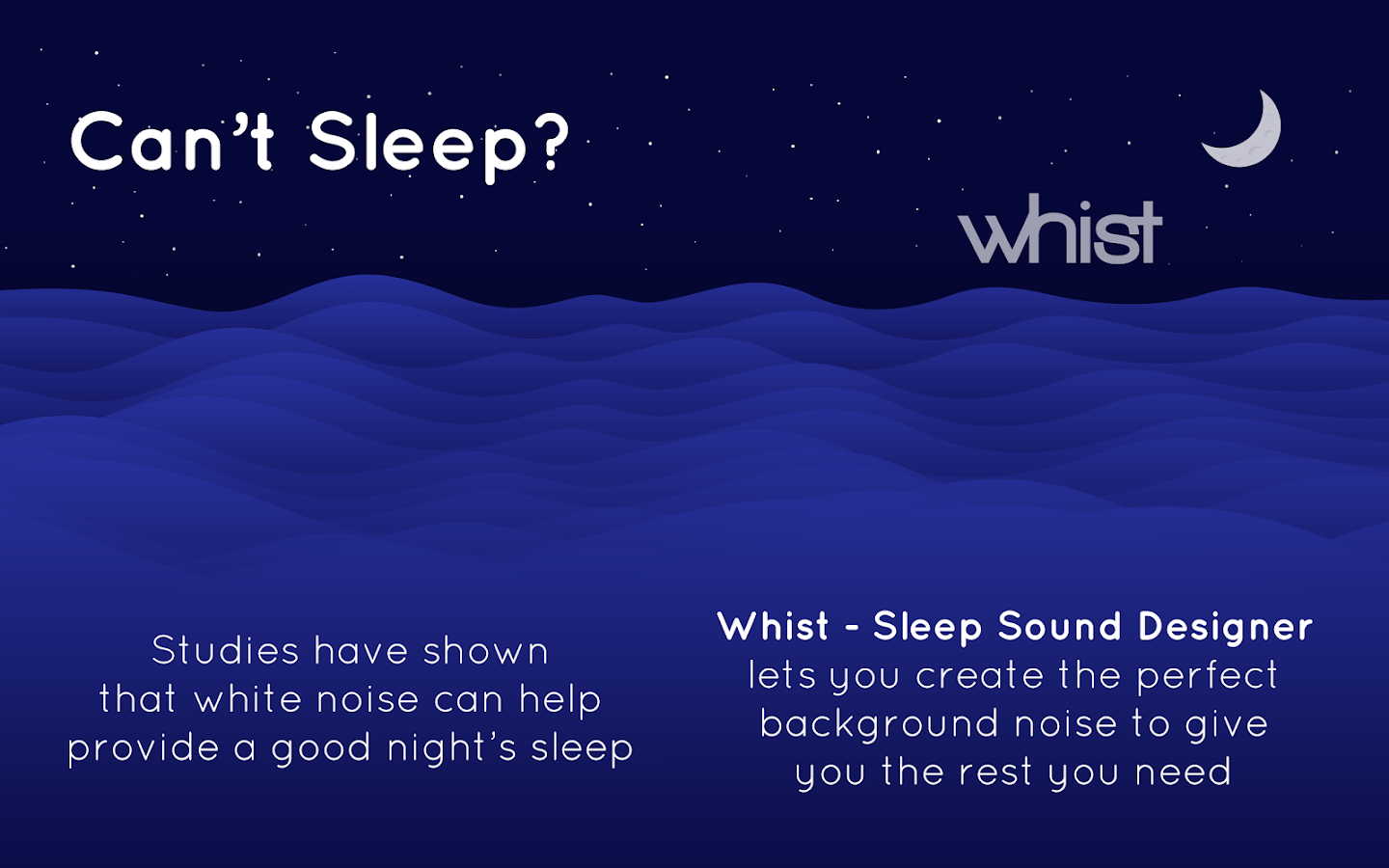 Whist - Sleep Sound Designer- screenshot