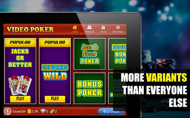 online casino video poker sizzling