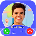 Brent Rivera Fake call : chat & live prank icon