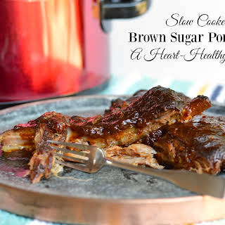 Slow Cooker Brown Sugar Pork Ribs.