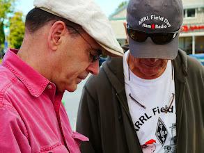 Photo: Doug (KI6BZT) and Bruce (KI6CYT) - how are we doing?