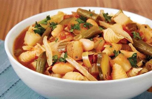 Vegetable Minestrone Soup Recipe