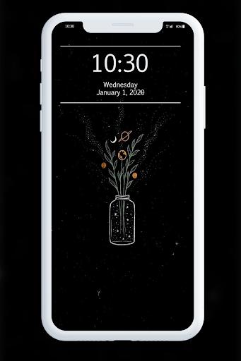 Black Wallpaper 1.1 screenshots 3