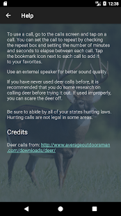 Whitetail Deer Calls- screenshot thumbnail