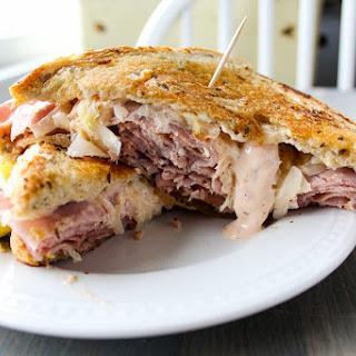 Ham Reuben Sandwich with Russian Horseradish Sauce Recipe