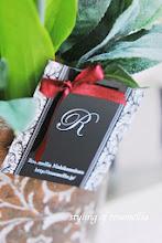 Photo: 神奈川湘南パリの花&タッセル&ポーセラーツ教室「ローズメリア西鎌倉」様のテンプレートショップカード