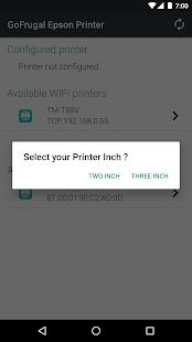 GoFrugal Epson Printer - náhled