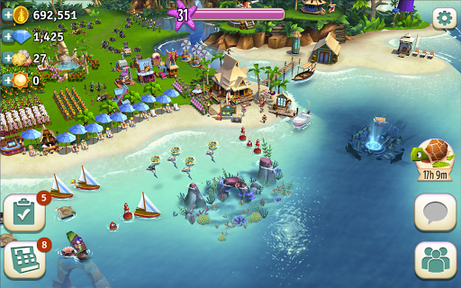 Re: FarmVille: Tropic Escape poster