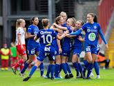 KAA Gent Ladies springen na zege in Luik over Standard