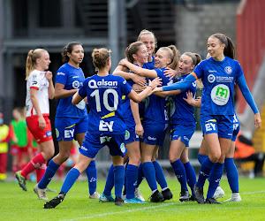 KAA Gent Ladies kunnen leiding in klassement opnieuw overnemen - schrijf nu in voor match tegen Charleroi