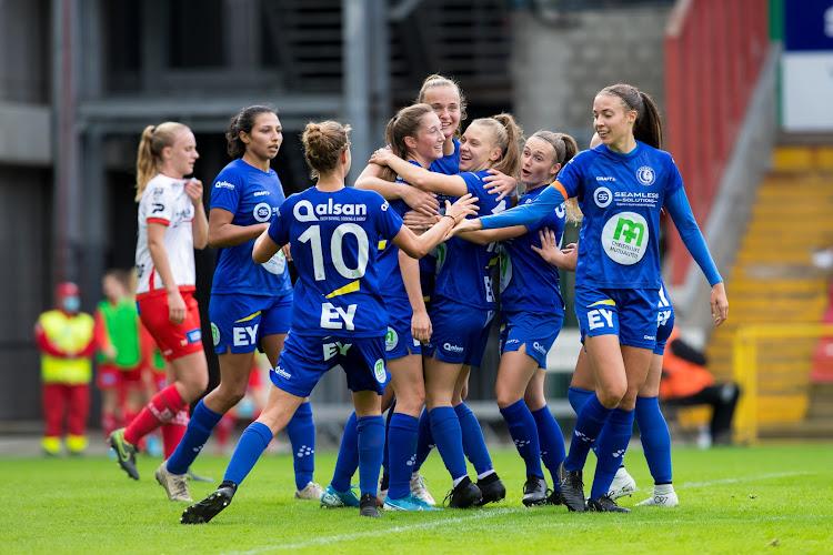 Match van Gent Ladies tegen Zulte Waregem zal u ook live kunnen volgen