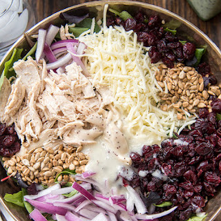 Chicken Cranberry Sunflower Salad