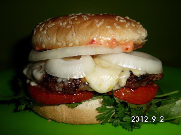 Spicy Labor Day Burger Recipe