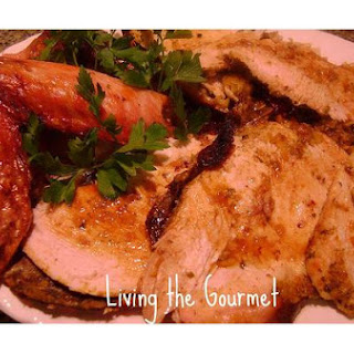 Turkey Breast Stuffed With Apricots & Cilantro