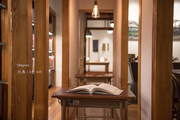 文房Chapter|在檜香氣息中打開閱讀的詩意|台北市中正區|忠孝新生站