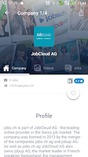 jobs.ch - Jobs in Switzerland - náhled
