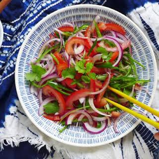Xinjiang Tiger Salad (老虎菜).