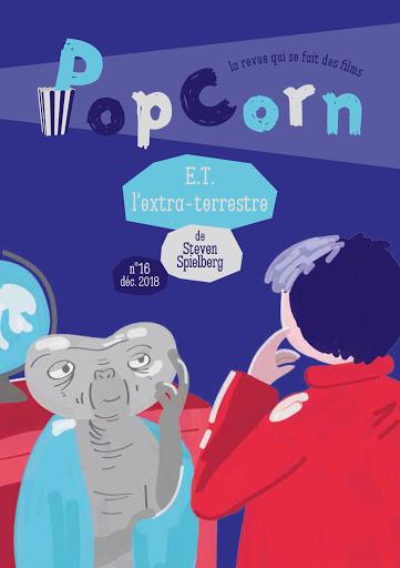 E.T. l'extra-terrestre n°16 PopCorn éditions du maïs soufflé