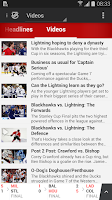 Screenshot of TSN GO